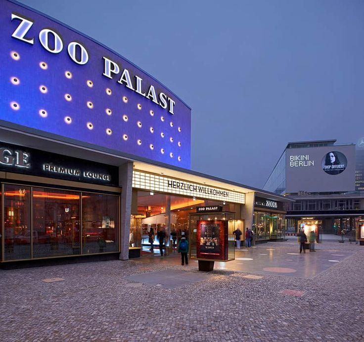 Traditionsrika Zoo Palast, en biograf sedan länge i Berlin.