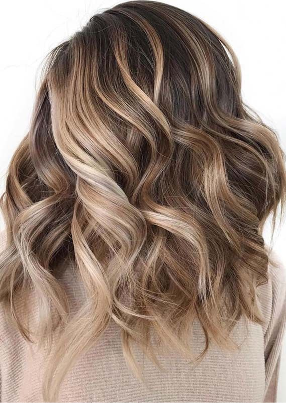 Awesome Blonde Balayage Hair Colors & Highlights for 2019
