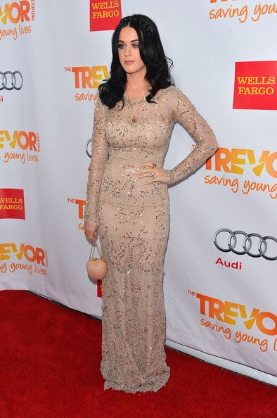 """Katy Perry Photos Photos - Singer Katy Perry arrives to The Trevor Project's 'Trevor Live' event honoring singer Katy Perry at the Hollywood Palladium on December 2, 2012 in Hollywood, California. - """"Trevor Live"""" Honoring Katy Perry And Audi Of America For The Trevor Project - Arrivals"""