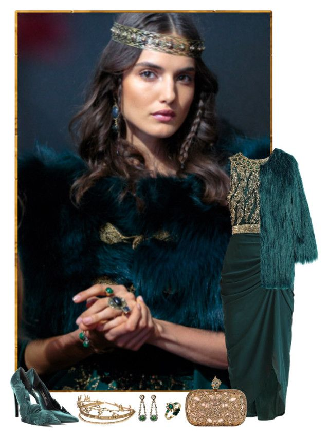 """""""Noble Fortress"""" by sakuragirl ❤ liked on Polyvore featuring Virgos Lounge, Unreal Fur, Elie Saab, Mawi, Alexander McQueen, Balenciaga, AlexanderMcQueen, ElieSaab, couture and virgoslounge"""