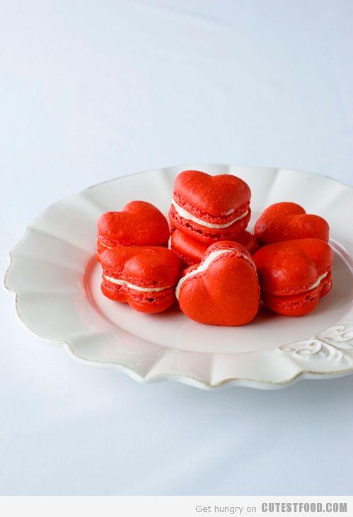 Valentines Day Macarons