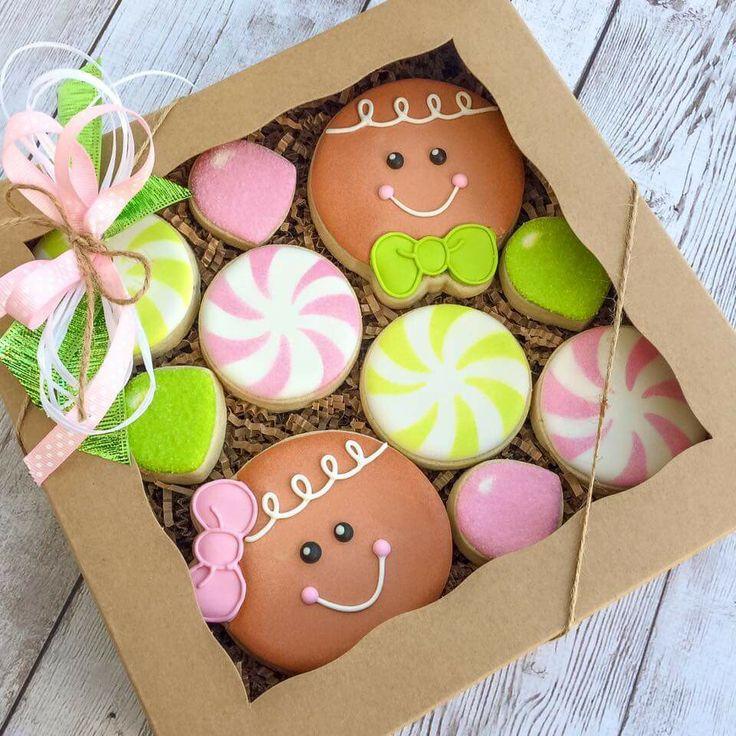 Gingerbread box set Christmas