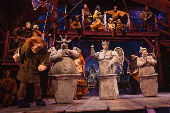 Disney's The Hunchback of Notre Dame - A Musical Adventure at the Backlot Theater at Disney's Hollywood Studios tami@goseemickey.com