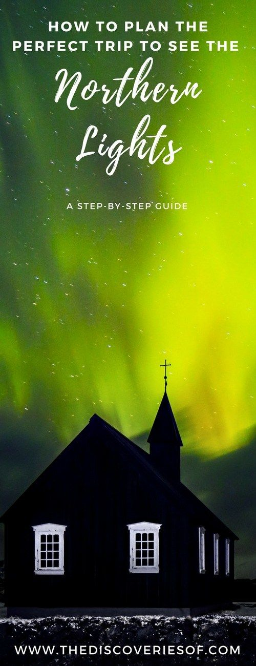 Northern Lights - planning the ultimate trip for your travel bucket list. #northernlights #wintertravel #traveldestinations