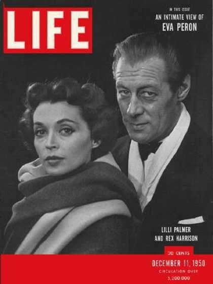 Rex Harrison - Life Magazine [United States] (11 December 1950)