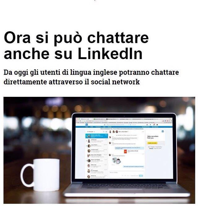 Anche Linkedin ora si adatta all'instant messaging. Per ora il servizio di messaggistica istantanea è ancora in fase iniziale, infatti solo gli utenti che utilizzano il social in lingua inglese avranno la possibilità di chattare direttamente o creare chat di gruppo in tempo reale.