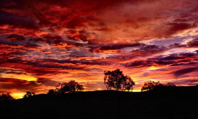 Beautiful sunset - Pilbara, Western Australia