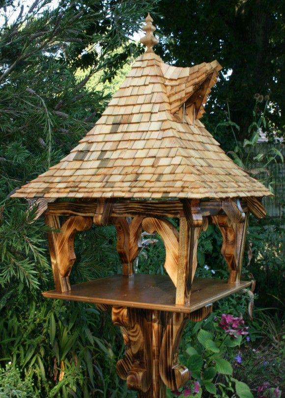 Best 25+ Bird tables ideas on Pinterest | Wooden bird ...