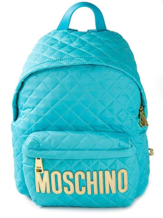 MOSCHINO | quilted backpack #moschino #backpack