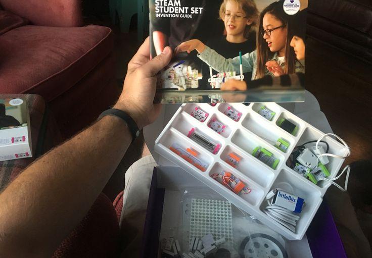 By Matt Cohen - A teacher review of the littleBits STEAM Student Set, as well as the littleBits STEAM online Professional Development.