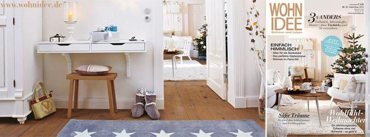Juhuuuu, die neue WOHNIDEE liegt ab dem 13.11.2013 mit 24 Gewinnen im Gesamtwert von 18.000 Euro für Euch am Kiosk. Hier könnt ihr bei unserem großen Weihnachts-Gewinnspiel mitmachen: http://wohnidee.wunderweib.de/artikel/3180260/Das-grosse-Weihnachts-Gewinnspiel-der-WOHNIDEE.html