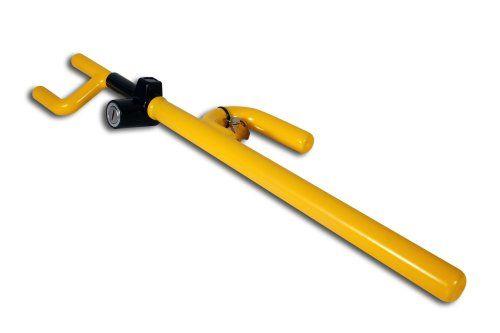 The Club 900 Steering Wheel Lock, Yellow