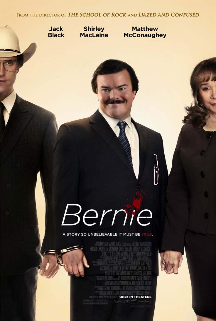 Poster For Jack Black's Movie Bernie