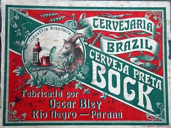Cervejaria Brazil - Cerveja Bock Preta (Rio Negro-PR)