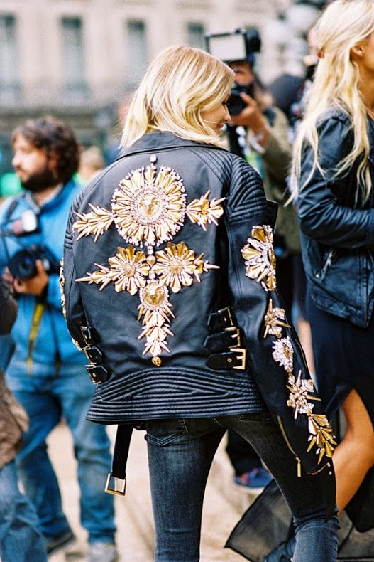 Paris Fashion Week SS 2015....Elena
