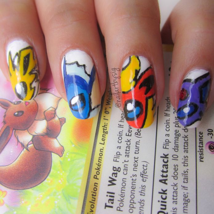 Posts About Pokemon Nail Art On By Sig