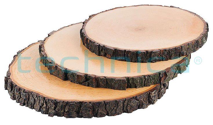 Taca drewniana, średnica 200-220 mm | CONTACTO, 3863/022