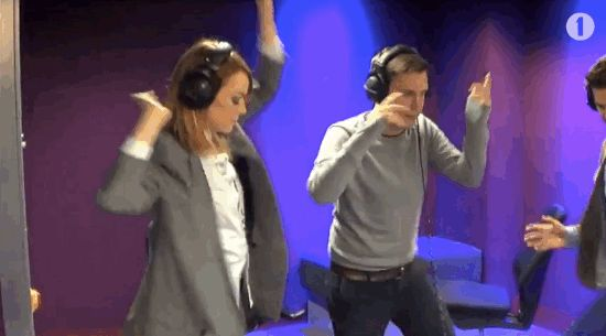 And in case you missed it, here's Emma Stone and Andrew Garfield dancing to the Bamboleo on Radio 1 last week. | Graham Norton Played Just The Cruelest Prank On Emma Stone This Weekend