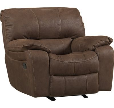 Living Rooms Bronson Glider Recliner Living Rooms