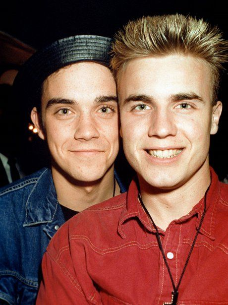Robbie and Gary