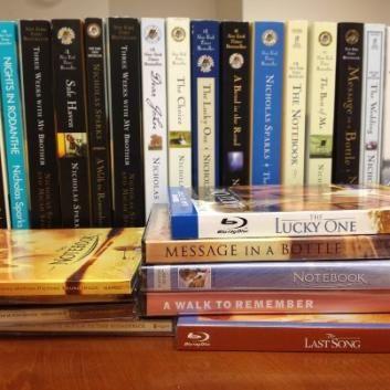 Nicolas Spark's Books