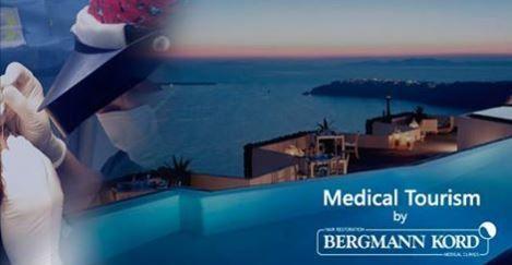 Bergmann Kord : Πρωτοπόρος και στον Ιατρικό Τουρισμό !  Oι ιατρικές υπηρεσίες υψηλών προδιαγραφών και ο άψογος συντονισμός των σχετικών με το ταξίδι ενεργειών, προσφέρουν μια ολοκληρωμένη εξυπηρέτηση του κάθε ενδιαφερόμενου από το εξωτερικό !