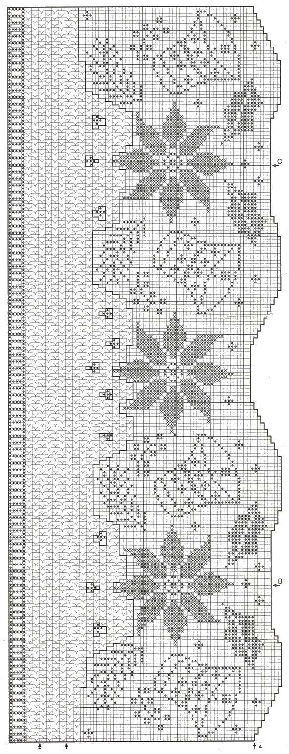 12 best Christmas free filet crochet patterns images on
