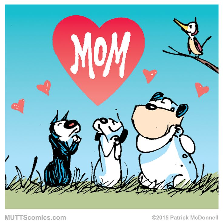 Mother's day with Mutts