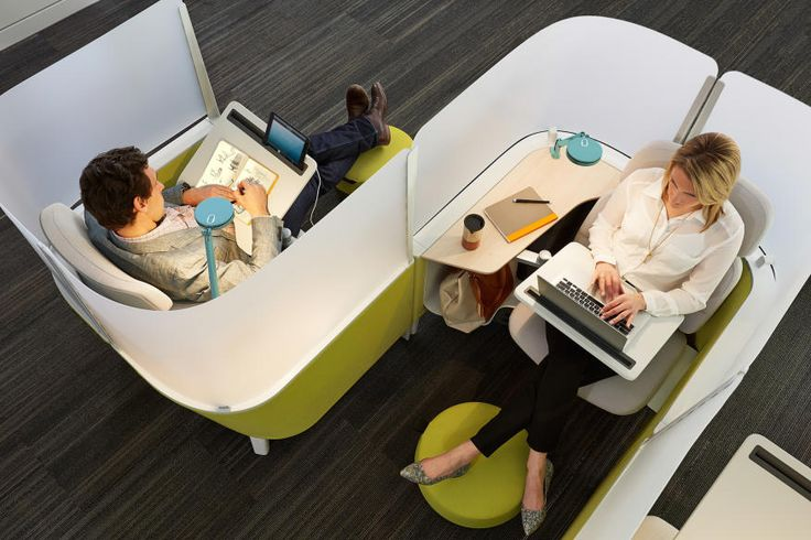 Steelcase Design Director Markus McKenna Explains the Brody Micro-Cubicle | Arch…