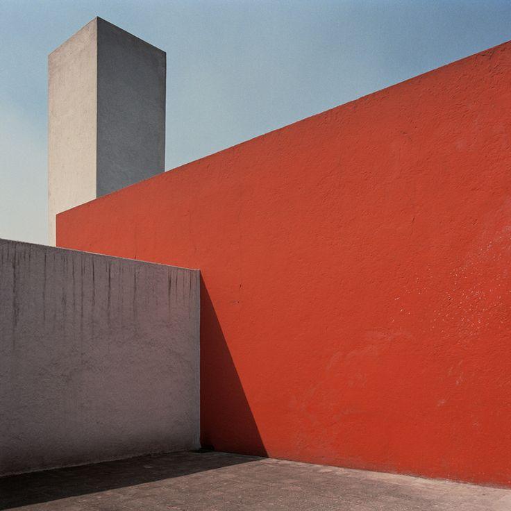 Luis Barragan, Mexican Architect. Casa Barragan, Mexico City. 1948