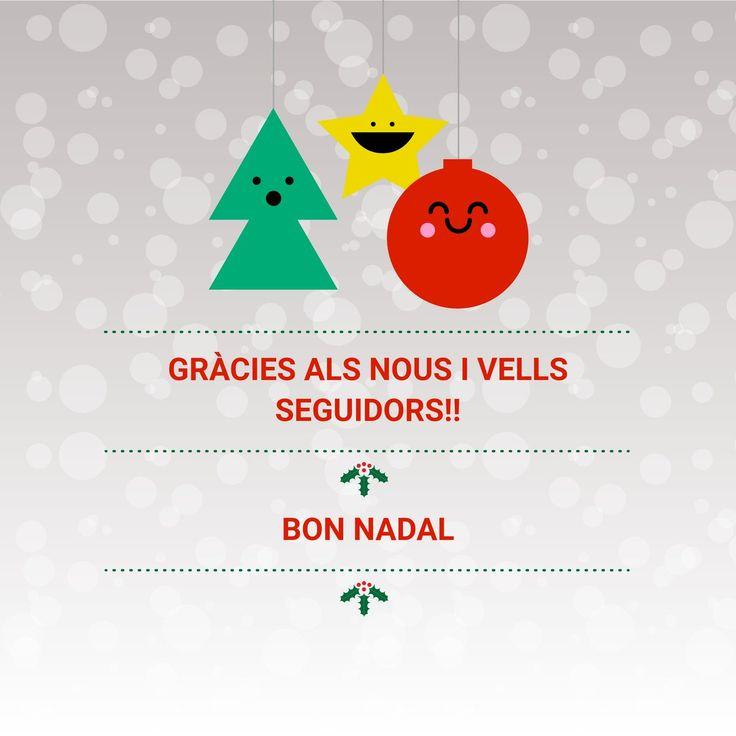 L'equip de xarxes socials també felicita el Nadal a tothom!!