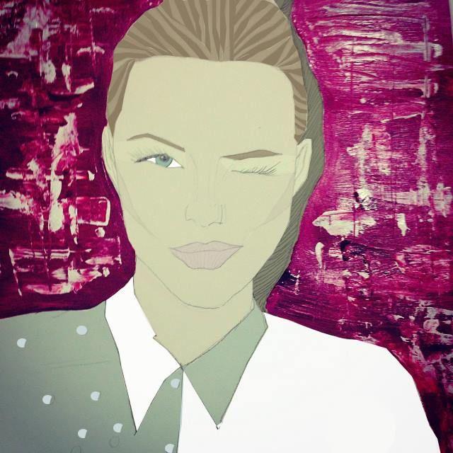 Lápiz mina ,#Acrilico , #Espatula  #dibujo #mujer #acrilico #digitalización #photshop #top #woman #style
