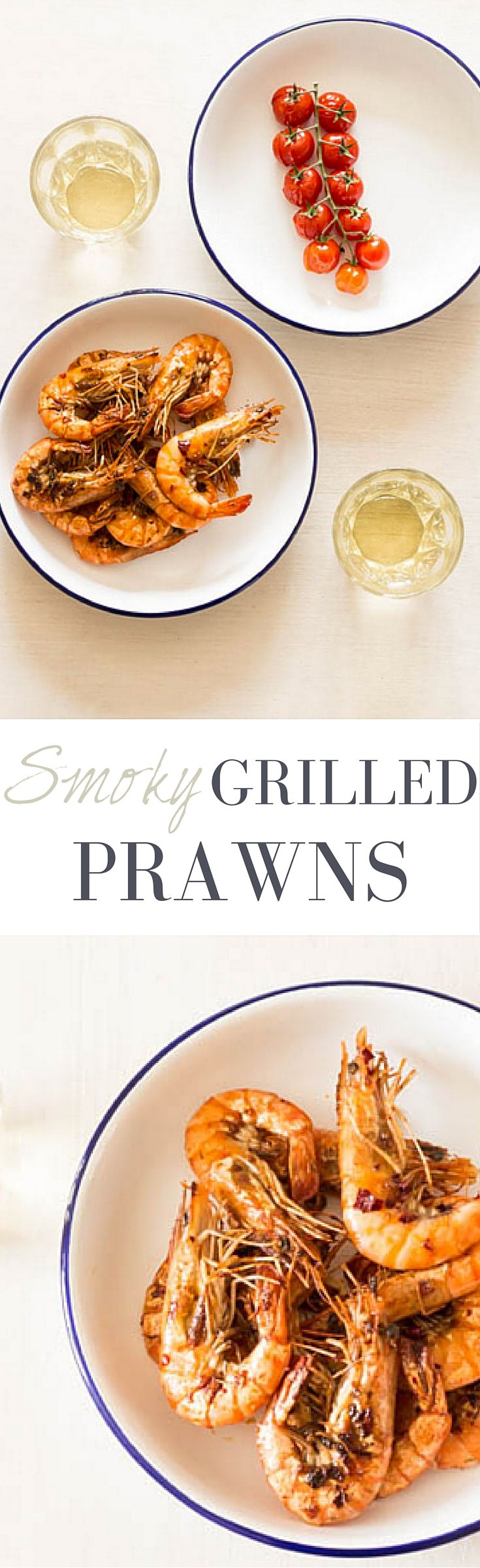 Smoky Grilled Prawns | Recipes From A Pantry