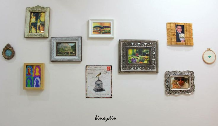 wall collage , frame