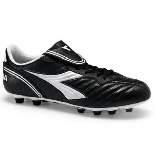 SALE - Diadora Scudetto LT Soccer Cleats Mens Black Leather - Was $56.99 - SAVE $14.00. BUY Now - ONLY $42.99
