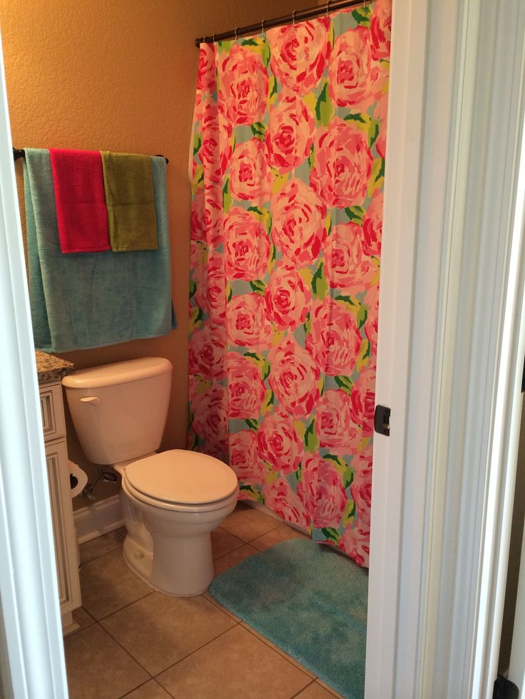 Elegant Our Lilly Pulitzer Bathroom. Part 31