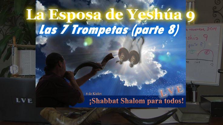 La Esposa de Yeshúa 9 - Las 7 Trompetas (parte 8)