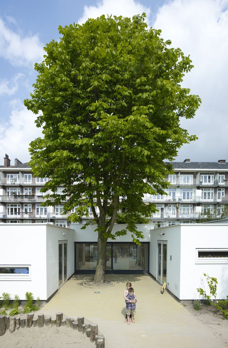 Built by NEXT Architects in Amsterdam, The Netherlands with date 2008. Images by Jeroen Musch. The Hestia Day-Care Centre follows the philosophy of Reggio Emilia. This philosophy also contains a number of explici...