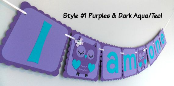 Check out this item in my Etsy shop https://www.etsy.com/ca/listing/487474485/purple-owl-banner-purple-teal-birthday