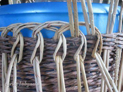 Мастер-класс Плетение И снова здравствуйте Трубочки бумажные фото 3