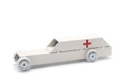 toy ambulance.
