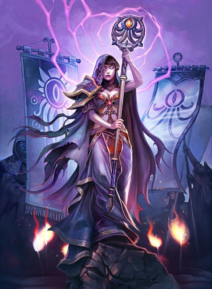 Beckoner of Evil, Whispers of the Old Gods - Card Sets - Hearthstone