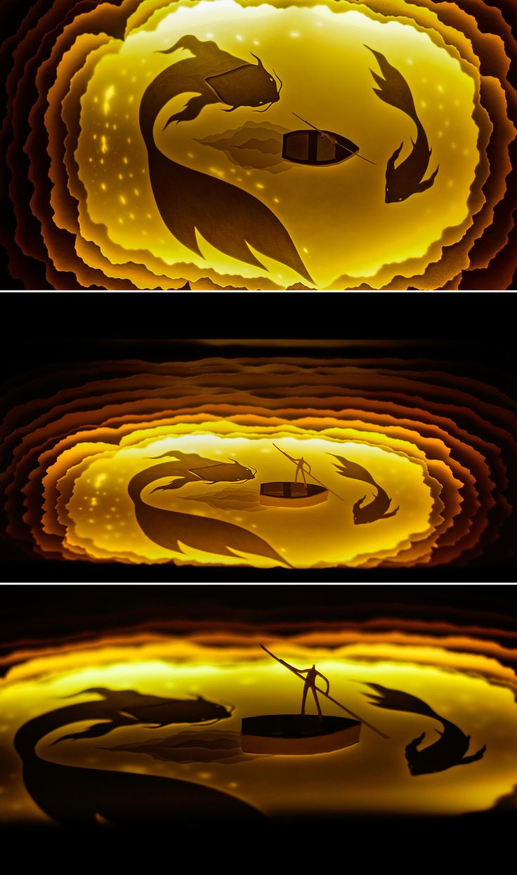 Backlit Paper Scuptures That Will Take You To Another World Hari and Deepti