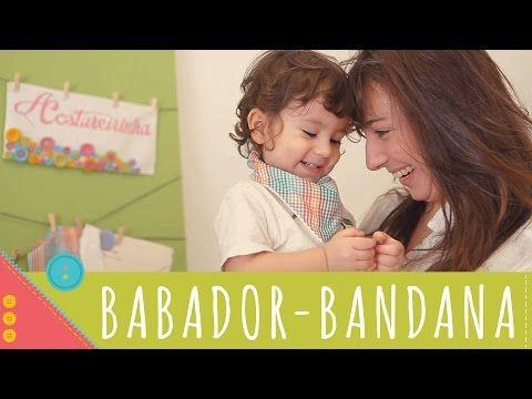 Descomplica! Aprenda a costurar um babador-bandana - YouTube