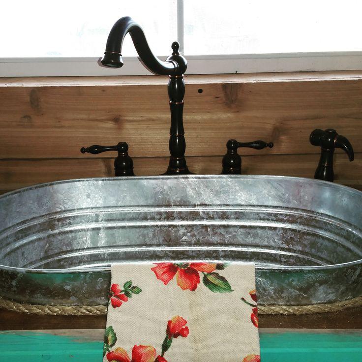Rustic Kitchen Sink: Best 25+ Bucket Sink Ideas On Pinterest