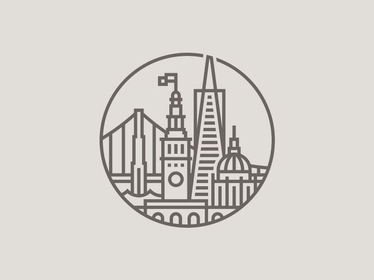 San Francisco Cityscape by Daniel Führer