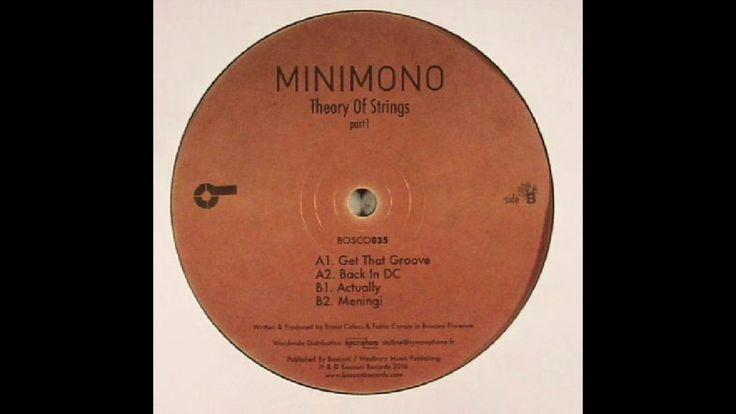 """Get That Groove""-Minimomo"
