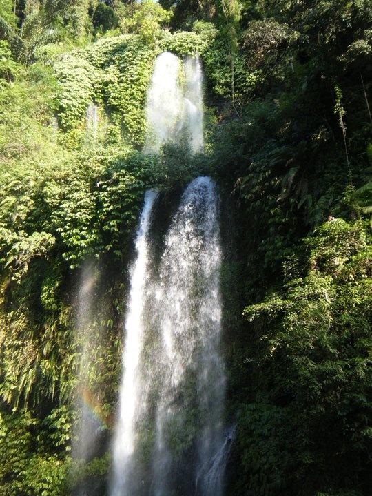 Waterfall . Lombok