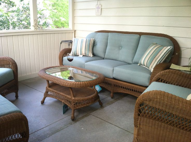 Updated My Screened Porch Furniture With A Terrific Set From Family Leisure  In Indianapolis. Yes