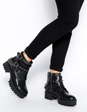 ASOS RULE OF THUMB Leather Ankle Boots